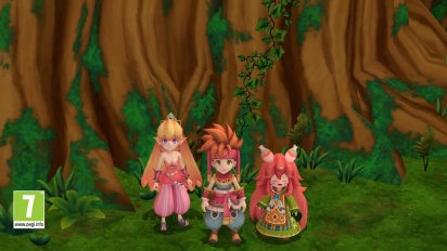 Secret of Mana -– Launch Trailer