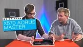 X570 Aorus Master: Quick Look