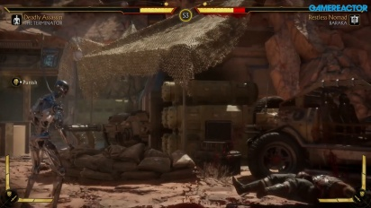 Mortal Kombat 11 - Terminator T-800 Endoskelett (Gameplay)