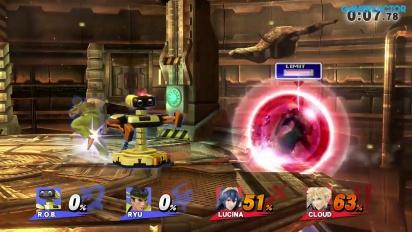 Super Smash Bros. für Wii U - Online-Gameplay - Hart auf Hart: 2 vs. 2