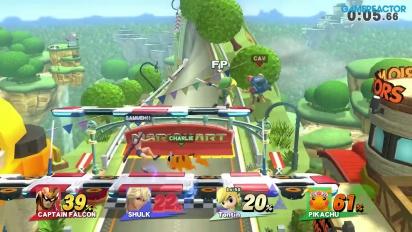 Super Smash Bros. für Wii U - Online-Gameplay - Geplänkel vs. Level 50-Amiibo