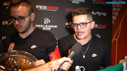 PES League 2019 World Finals - Interview mit den Koop-Champions