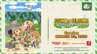 Story of Seasons: Pioneers of Olive Town - Gameplay Features Trailer