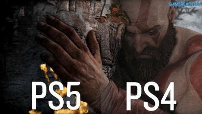 God of War - Grafikvergleich PS4 vs. PS5