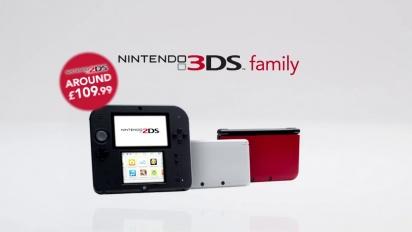 Nintendo 3ds - The Nintendo 3DS Family Trailer