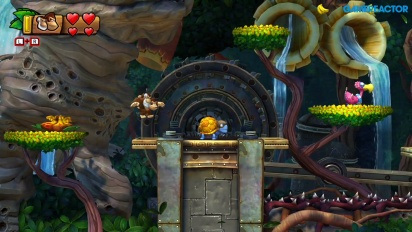 Donkey Kong Country: Tropical Freeze for Nintendo Switch - Level 1-3 Gameplay