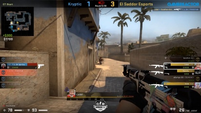 OMEN by HP Liga - Kryptik VS El Sadoor Esports on Mirage.