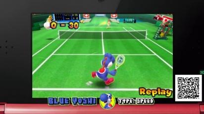 Mario Tennis Open - Yoshi Chase Summary Trailer