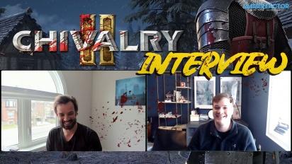 Chivalry 2 - Interview mit Steve Piggott & Rasmus Löfström