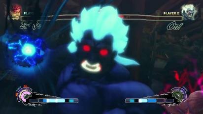 Super Street Fighter IV: Arcade Edition - Oni vs. Evil Ryu Gameplay