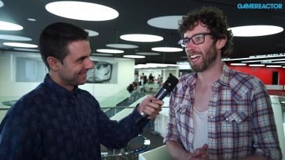 The Talos Principle & FTL- Gamelab 2015 - Interview Tom Jubert