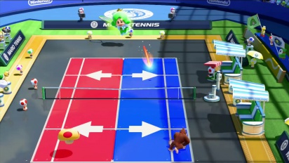 Mario Tennis: Ultra Smash – A Vacation from the Sprixie Kingdom Trailer