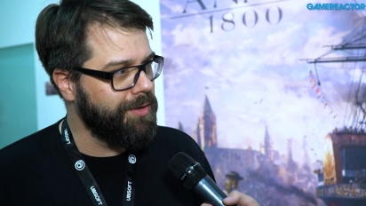 Anno 1800 - Interview mit Dirk Riegert