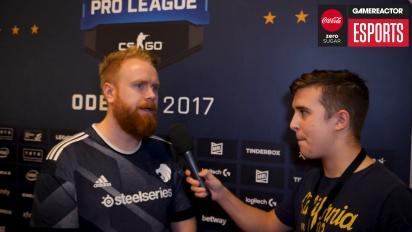 ESL CS:GO-Finale Odense 2017 - Interview mit Casper ''ruggah'' Due (North)