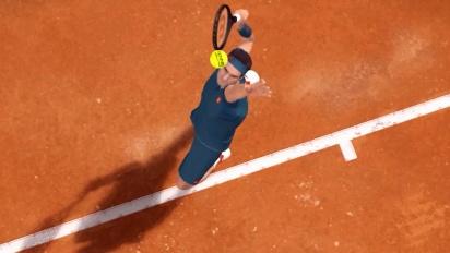 Tennis World Tour: Roland-Garros Edition - Nadal Reveal Trailer