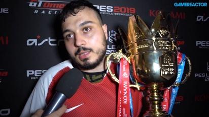 PES League World Finals 2019 - Interview mit dem Champion Usmakabyle