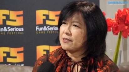 Fun & Serious Game Festival 2019 - Interview mit Yoko Shimomura