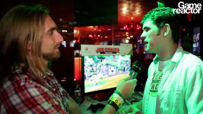 E3 12: Joe Danger: The Movie - Interview Sean Murray