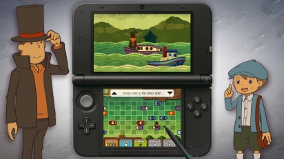 Professor Layton and the Azran Legacy - Launch Trailer