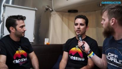 Crossing Souls - Interview Daniel Benítez & Alfonso Cueto
