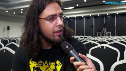 Vlambeer - Gamelab 2015 - Interview Rami Ismail