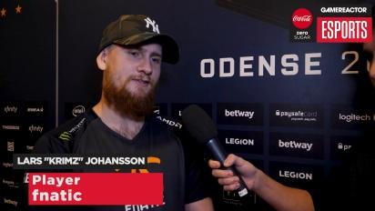 ESL CS:GO-Finale Odense 2017 - Interview mit Lars ''KRIMZ'' Johansson