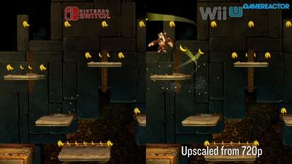 Donkey Kong Country: Tropical Freeze - Nintendo Switch vs Wii U II