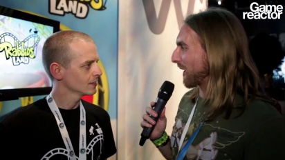E3 12: Rabbids Land - Interview Joel Gaudeul