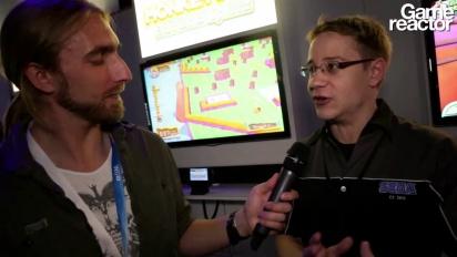 E3 12: Super Monkey Ball: Banana Splitz - Interview Aaron Webber