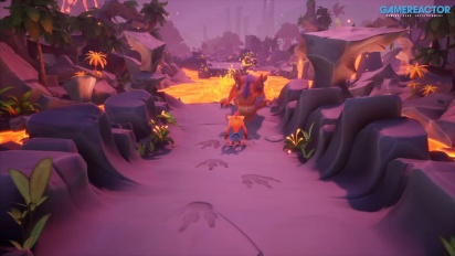 Crash Bandicoot 4: It's About Time - Level 'Snow Way Out' & 'Dino Dash' (Gameplay)