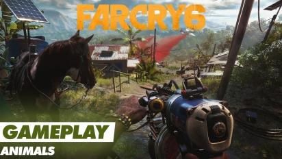 Far Cry 6 - Spaß mit Tieren (Gameplay)