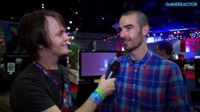 Below - Interview Nathan Vella E3 2014