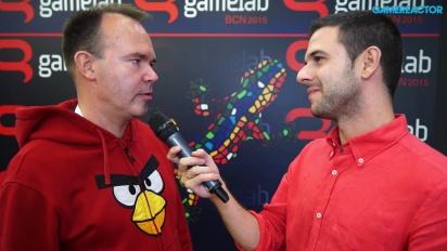 Angry Birds - Gamelab 2015 - Interview Peter Vesterbacka