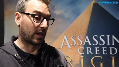 Assassin's Creed Origins - Interview mit Jean Guesdon