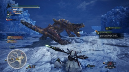 Monster Hunter: World - Iceborne - Jagd auf den Tigrex (Gameplay)