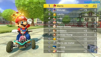 Mario Kart 8 Deluxe - Shine Thief 1080p60 Gameplay