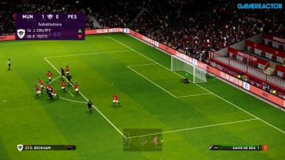 eFootball PES 2020 - Manchester United vs. PES Legends (Vollständiges Match - Gameplay)