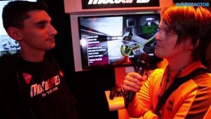 E3 2014: MotoGP 14 - Andrea Basilio Interview