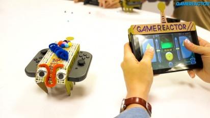 Nintendo Labo: Variety Kit - RC Car Toy-Con Zusammenbau und Gameplay