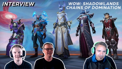 World of Warcraft: Shadowlands - Interview mit Johnny Cash und Frank Kowalkowski
