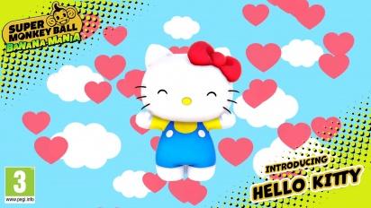 Super Monkey Ball: Banana Mania - Hello Kitty Character Trailer