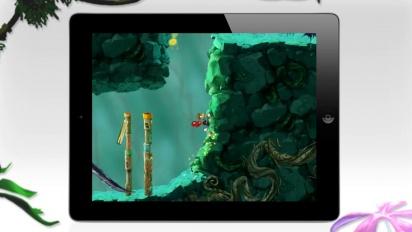 Rayman: Jungle Run - New Update iOS Trailer