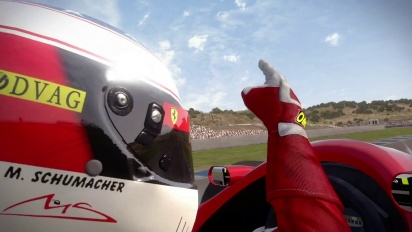 F1 2013 - 1990's Content Pack Trailer