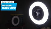 Wistream Halo 300 Ring Light: Quick Look