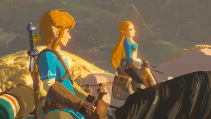 Nintendo Switch - Japanese TVCM 3: The Legend of Zelda: Breath of the Wild