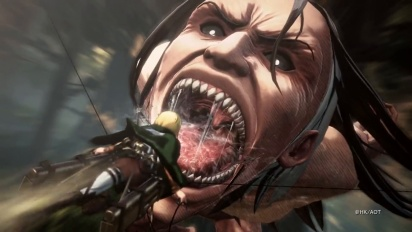 Attack on Titan 2 - Reveal Teaser