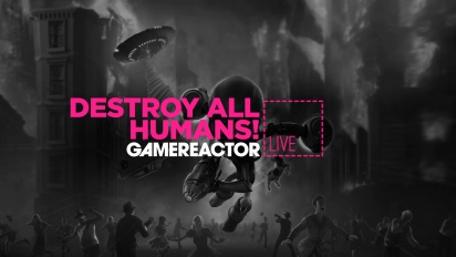 Destroy All Humans! - Livestream-Wiederholung