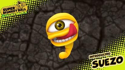 Super Monkey Ball: Banana Mania - Suezo Character Trailer