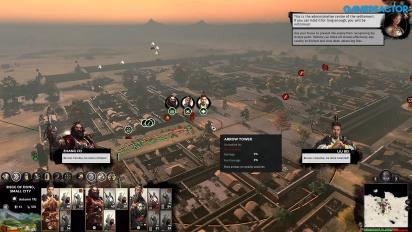 Total War: Three Kingdoms - Siege Battle Gameplay