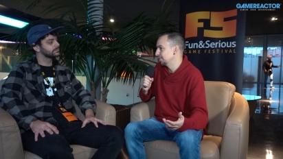 Team Gotham auf dem Fun & Serious Game Festival 2019 - Interview mit Juan De La Torre